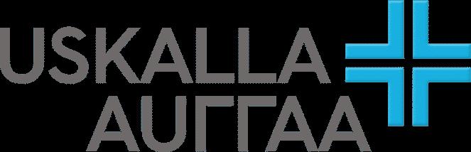 Uskalla Auttaa logo