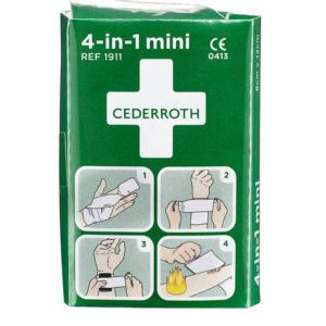 Cederroth 4-in-1 pieni ensiapuside