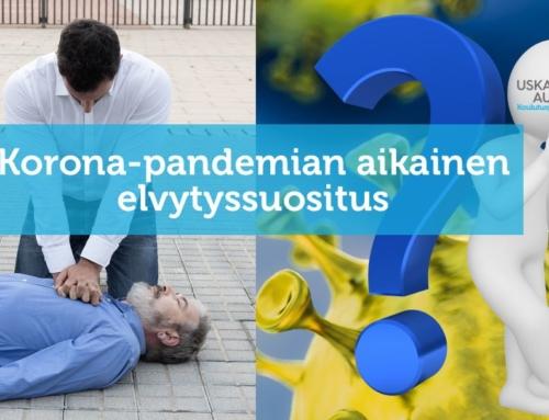 Koronapandemian aikainen elvytyssuositus (18.5.2020)